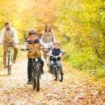 Mejora la forma física de toda la familia